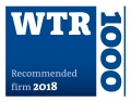 World Trademark Review - WTR1000 recommended firm